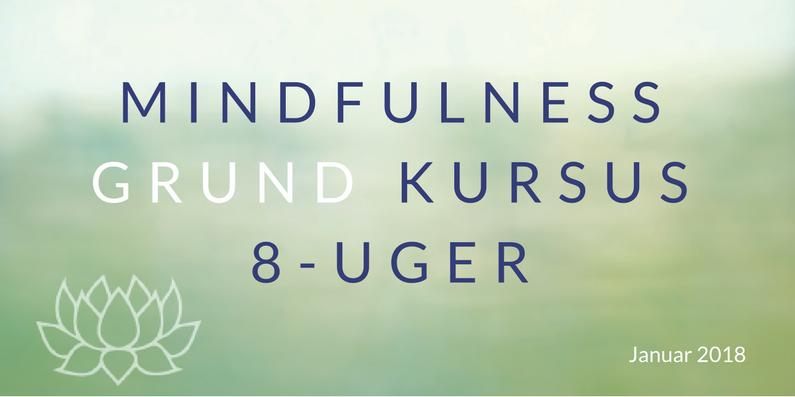 8 ugers Mindfulness kursus 2018