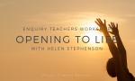 opening to life Helen stephenson Christin Illeborg Nordic Dharma