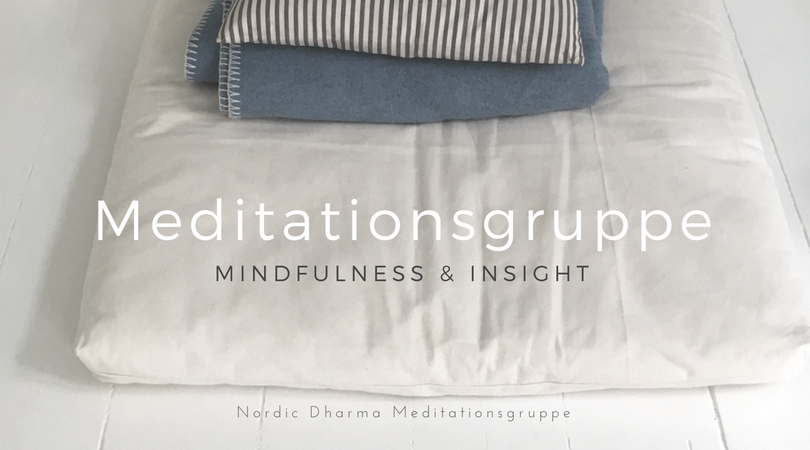 Meditationsgruppe. Mindfulness og Insight