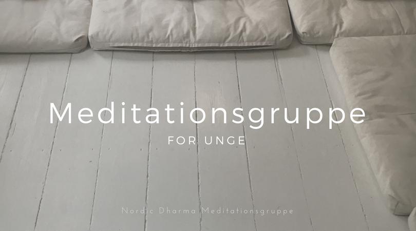 Meditationsgruppe for unge kvinder og mænd