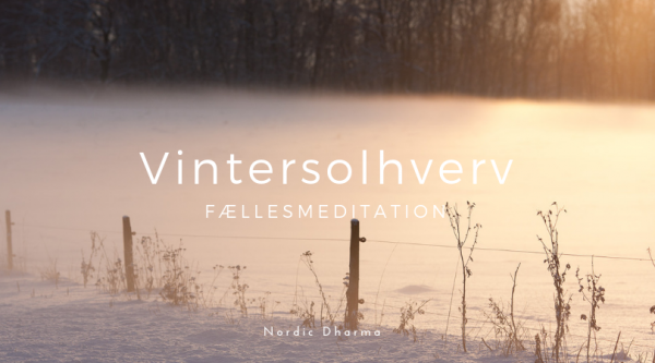 Vintersolhverv Fællesmeditation. Nordic Dharma, København.