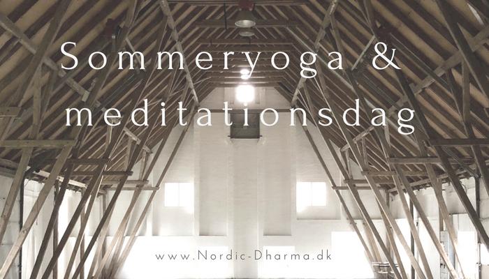 Sommeryoga og meditation på Østrupgaard